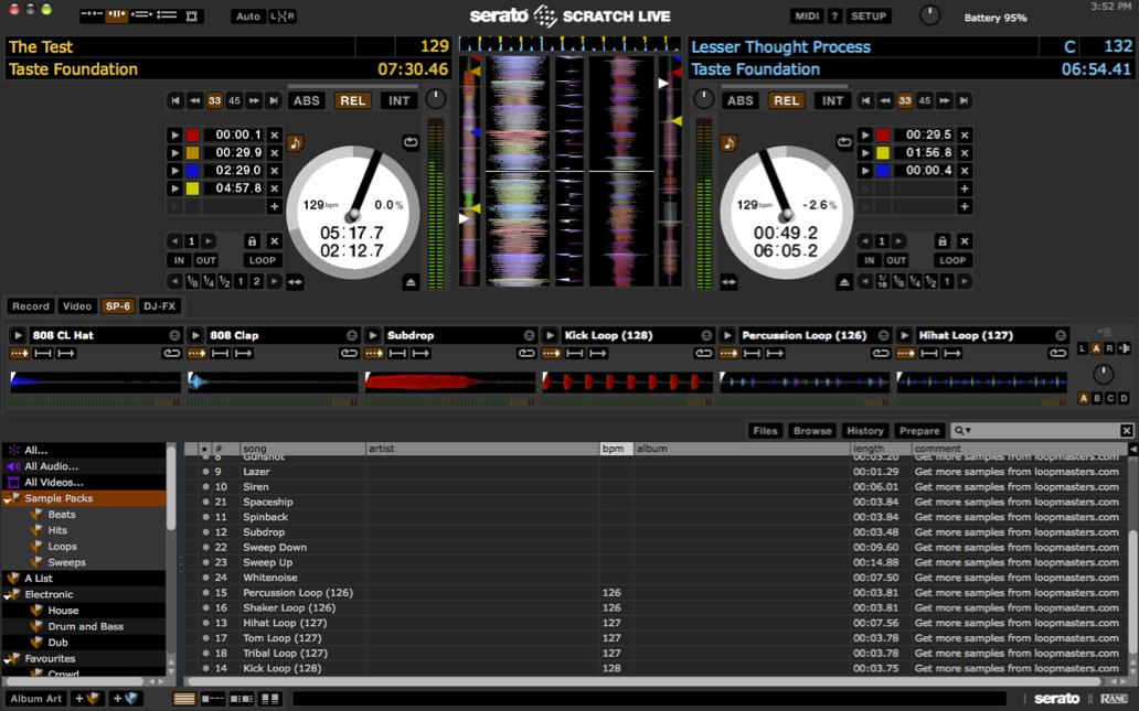 Serato Scratch Live/DJ